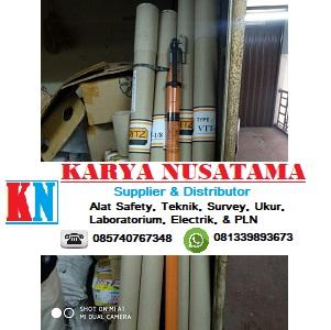 Terjual Produk Telescopic Hot Stick 20kv Ritz Design 24 KV 10.5 Meter di Balikpapan