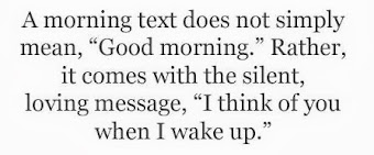 What to say in a good morning text