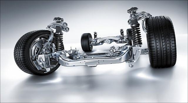 Hệ thống treo Mercedes C300 AMG 2019