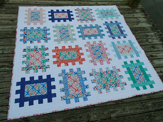 Garden Plots Quilt Free Tutorial