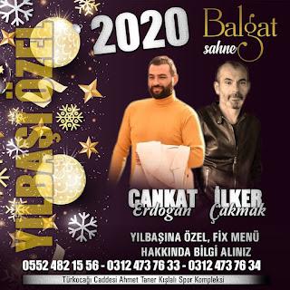 Balgat Sahne Ankara Yılbaşı Programı 2020 Menüsü