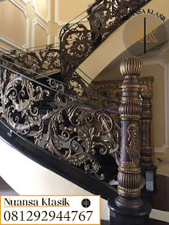 tangga layang besi tempa