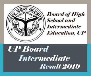 UP Intermediate Result 2019, UP Board Result 2019 12th, UP Board  Result 2019 Class 12