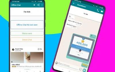 Ofline Chat App: