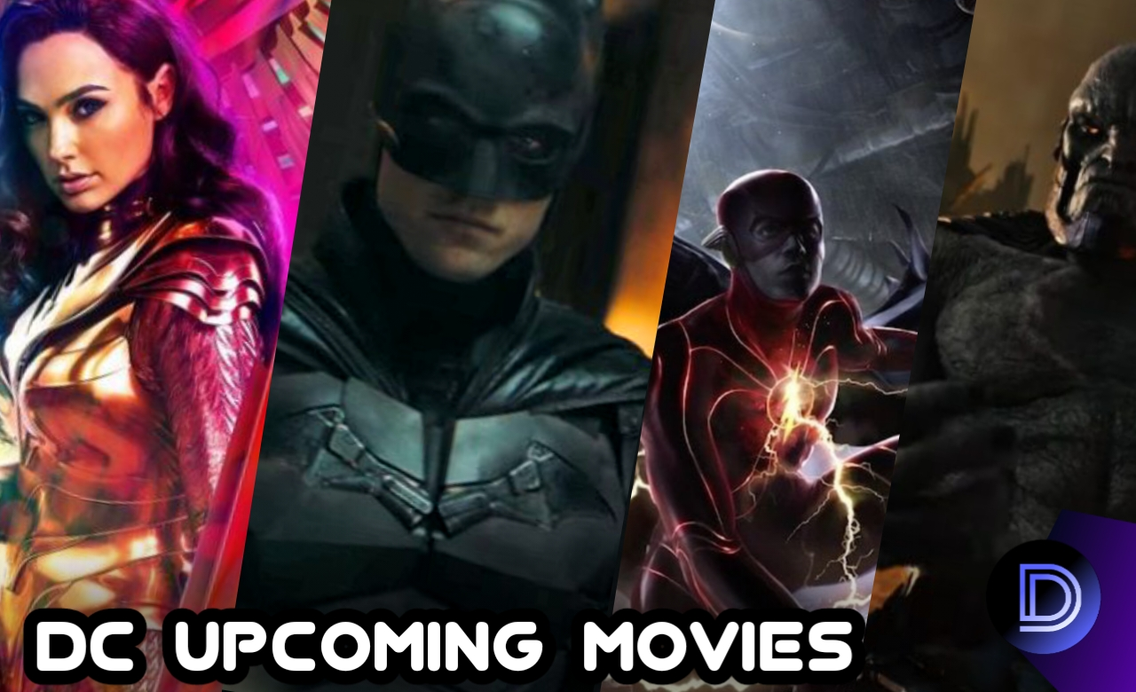 Dc Upcoming Movies Complete List  And There Release Schedules