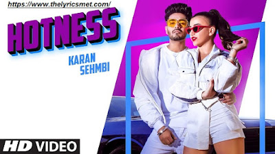 Hotness Song Lyrics | J-Tractions | King Ricky | Latest Punjabi Songs 2020