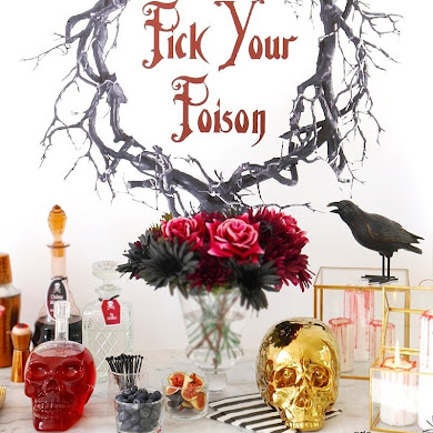 Creepy n' Chic Halloween Cocktail Party Ideas