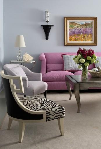Pink Couch Gray Living Room: Decore: 8 Idéias De Sala Em Cinza