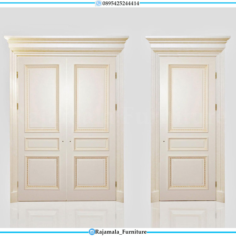 Desain Pintu Rumah Mewah Ukiran Classic Luxury Furniture Jepara RM-0205