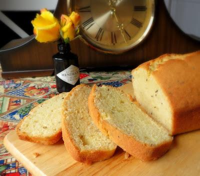 Caraway Seed & Lemon Cake