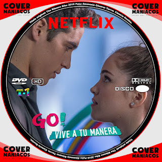 GALLETA 1 GO VIVE A TU MANERA 2019 TEMPORADA 1[[COVER DVD]