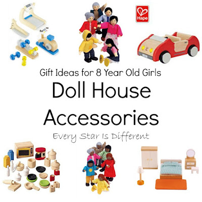 Doll House Accessory Gift Ideas for 8 Year Old Girls
