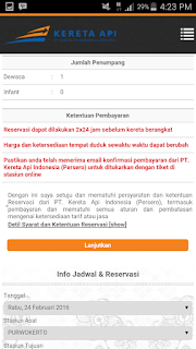 Memesan Tiket Kereta Api Secara Online