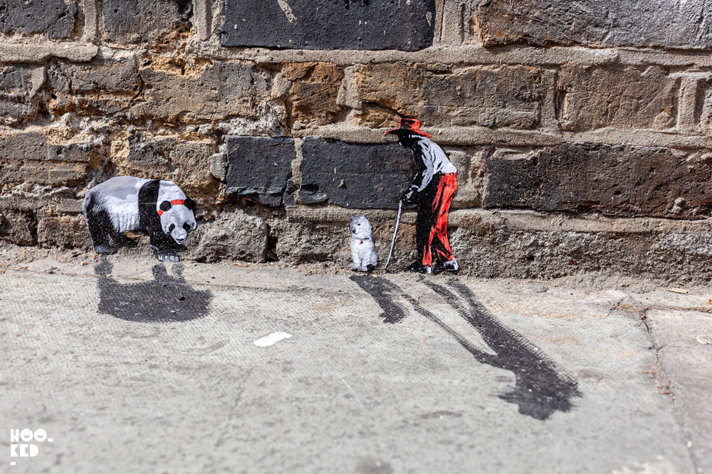 Amazing Miniature Street Art by Mexican artist Pablo Delgado in London