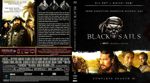 Black Sails Season 3 Bluray Cover