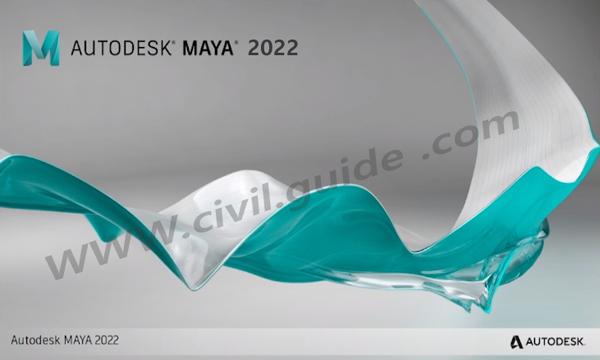 تحميل - تنزيل برنامج اوتوديسك مايا 2022 احدث اصدار مع التفعيل مجانا Free Download Autodesk Maya 2022 With  Crack