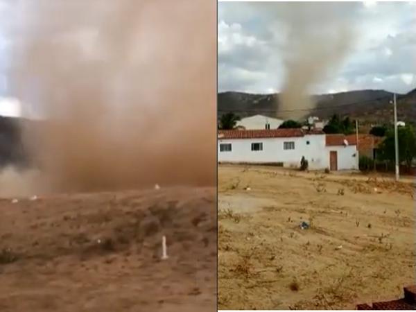 Fenômeno meteorológico assusta moradores de Santana do Seridó - RN. Confira o Vídeo: