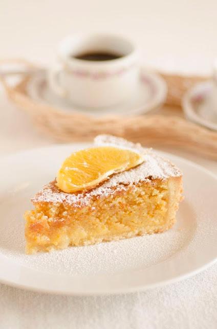torta frangipane all'arancia