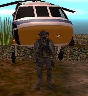 Askeri Pilot Skini