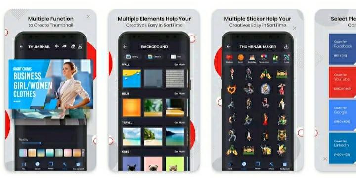 Five Best YouTube Thumbnail Making App In 2020 | Thumbnail Maker App