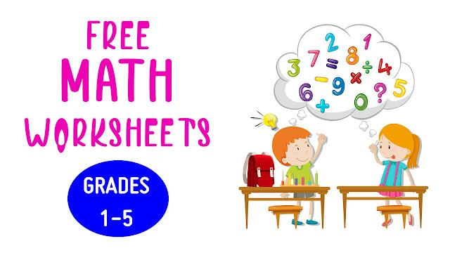Download Free Math Worksheets For Grades 1-5