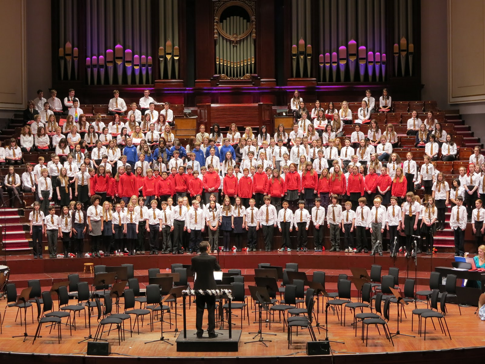 Sciennes Primary School Jghs Usher Hall Christmas Concert