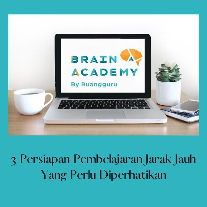 3 Persiapan Pembelajaran Jarak Jauh Yang Perlu Diperhatikan