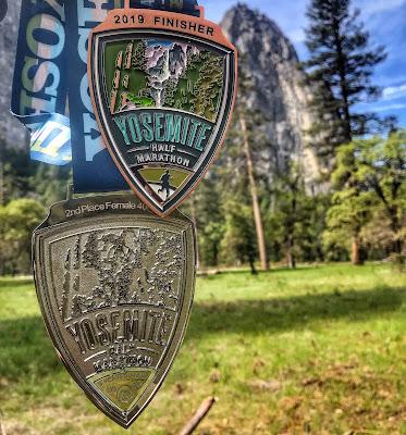 Yosemite Half Medal 2019