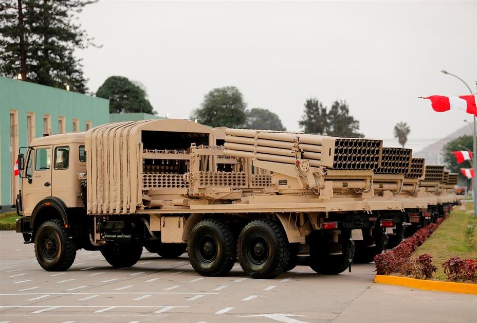 РСЗВ Тип 90ВМ армії Перу