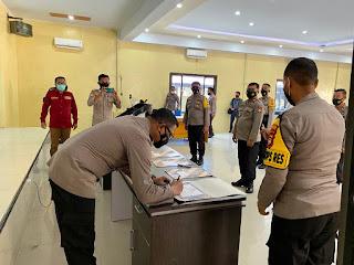 Polres Luwu Utara Deklarasi Zona Integritas Menuju Predikat WBK Dan WBBM