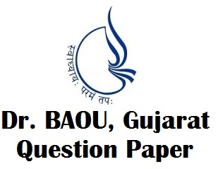 Dr. Babasaheb Ambedkar Open University Old Paper