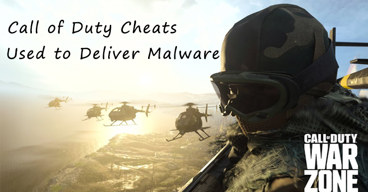 Call of Duty Cheats to Deliver malware