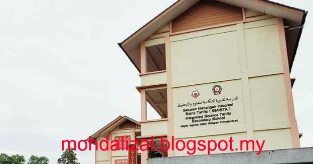 Sekolah Menengah Integrasi Sains Tahfiz Selangor Red Pastel F