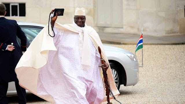 Gambia's former President Yahya Jammeh 'stole $50m', assets frozen