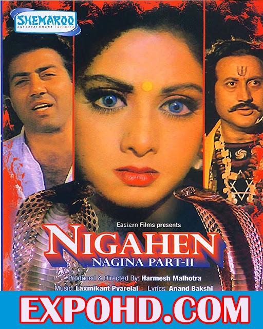 Nigahen Nagina Part II (1989) Full Movie Download 720p   HDRIp x265 ACC 1.1Gb