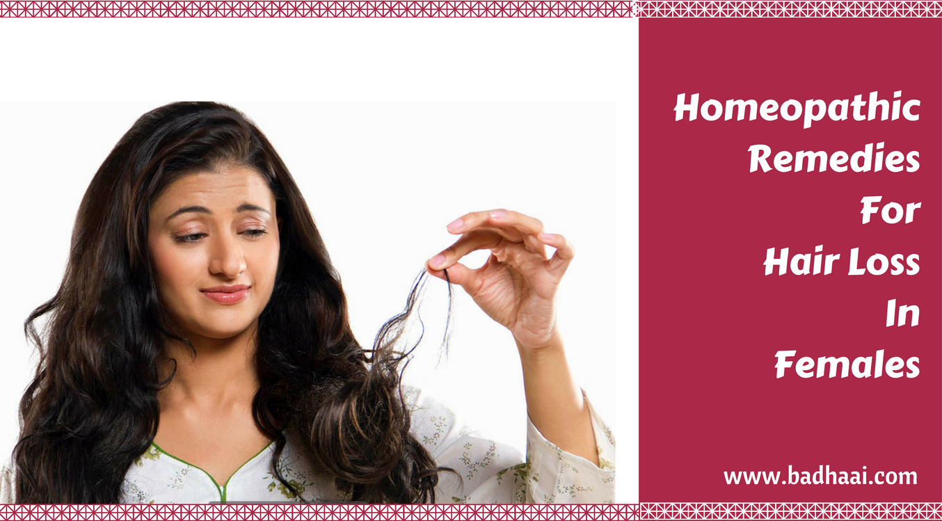 Homeopathic Remedies for hair loss in females