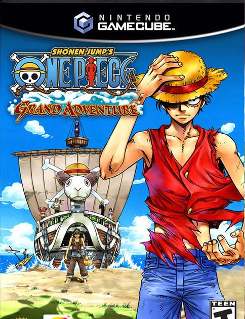 NGC One Piece Grand Adventure NTSCGDrive