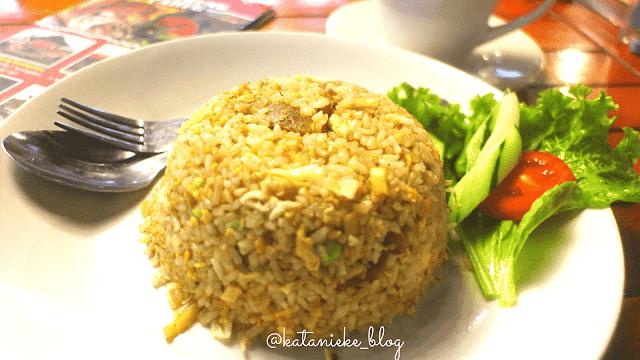 nasi goreng mawut di Warung Wareg, Batu, Malang