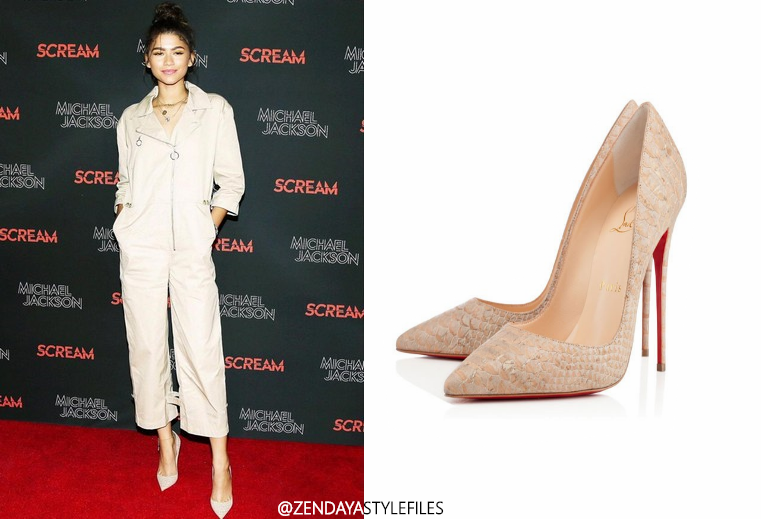 5ce2430e12f Zendaya At The Scream Premiere!