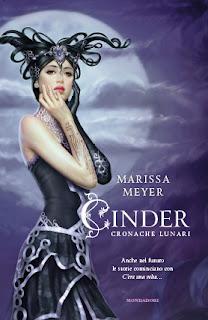 copertina Cinder Cronache Lunari Marissa Meyer