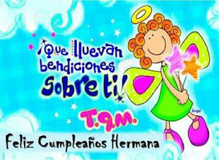 cumpleaños para mi hermana
