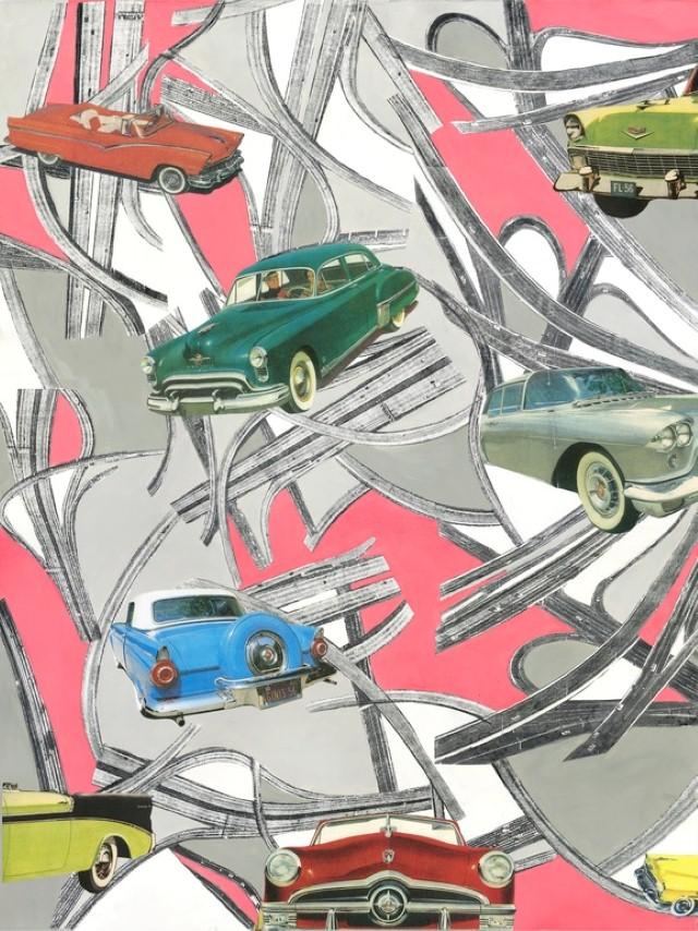 Коллажи и изобразительное искусство. Laurie Raskin 26