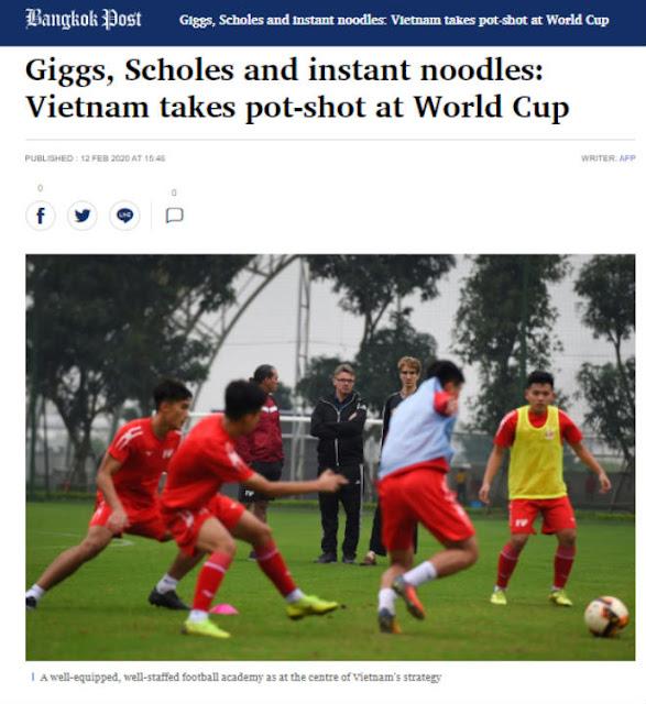 Báo Thái sửng sốt vì VN hợp tác huyền thoại MU, tin giấc mơ World Cup không còn xa