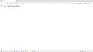Halaman InfoGTK tidak dapat diakses