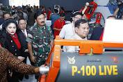 Panglima TNI Hadiri Pameran Industri Alpalhankam Dalam Negeri