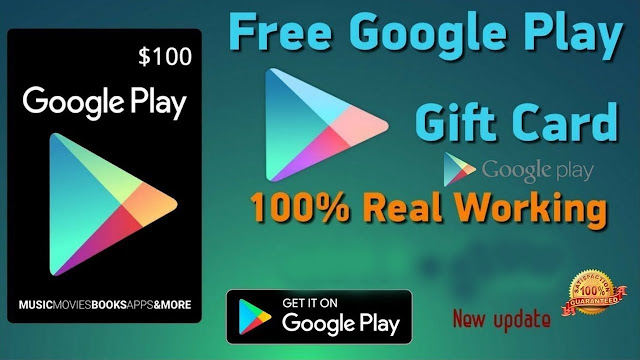 todays constant offer spot: Get a $100 Google Play gift card free!
