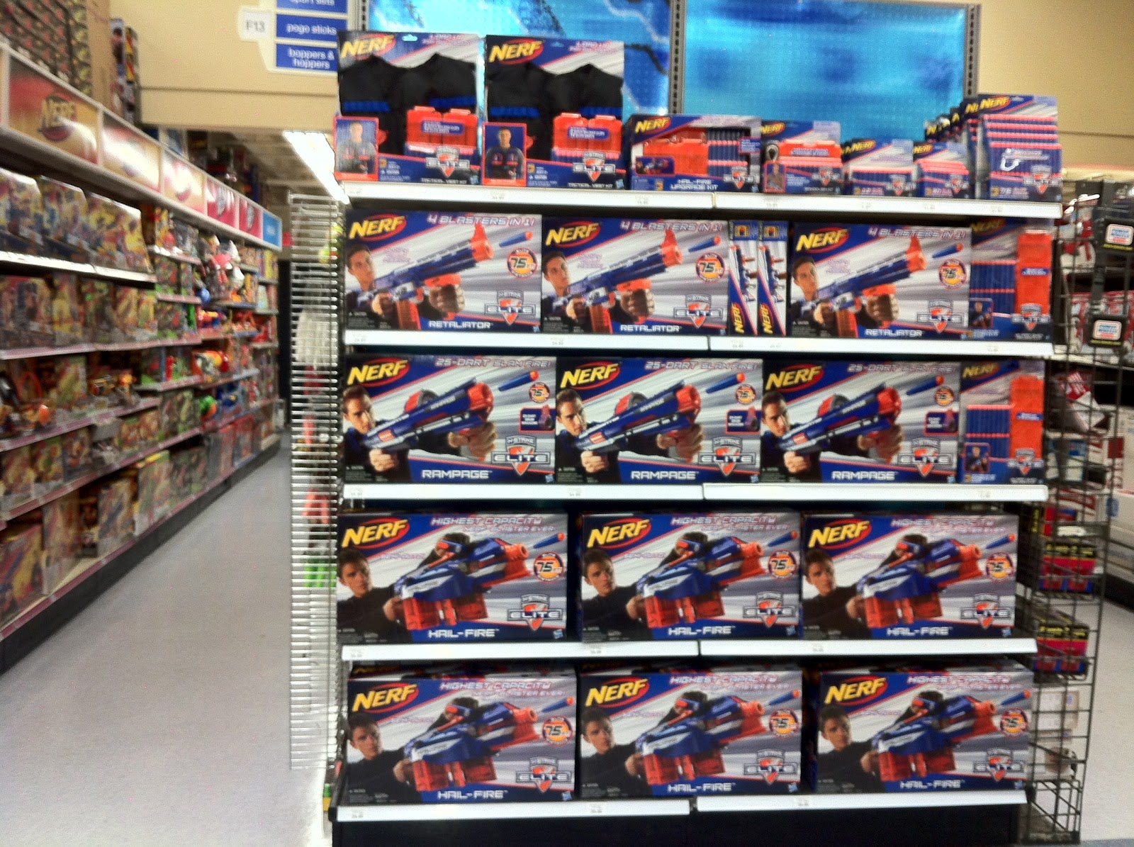 Bay Area Nerf Last Day For Nerf Sale