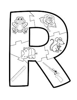 abecedario con dibujos fáciles