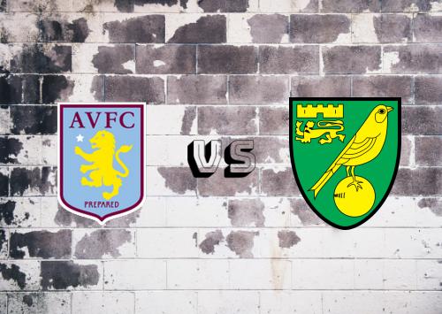 Aston Villa vs Norwich City  Resumen