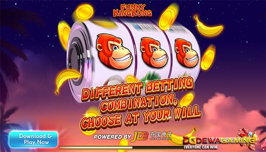 JDB Gaming Fungky King Kong
